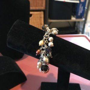 Italian sterling silver charm bracelet